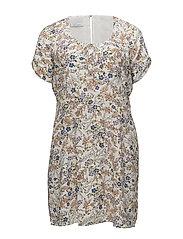 Violeta by Mango - Floral Print Dress
