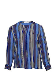 Striped blouse - MEDIUM PURPLE