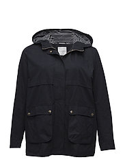 Hooded trench - NAVY