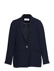 Classic-fit suit blazer - NAVY