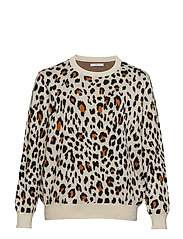 Leopard Cotton Sweater