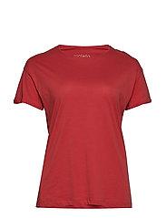 Organic cotton t-shirt - BRIGHT RED