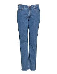 Straight-Fit Theresa Jeans Raka Jeans Blå VIOLETA BY MANGO