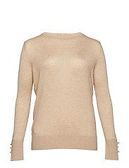 Fine-knit sweater - LIGHT BEIGE