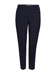 Slim-fit  trousers - NAVY