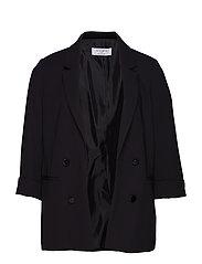 Structured Suit Blazer Blazer Kavaj Svart VIOLETA BY MANGO