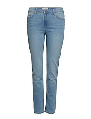 Slim-Fit Susan Jeans Slimmade Jeans Blå VIOLETA BY MANGO
