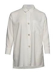 Oversized shirt - NATURAL WHITE
