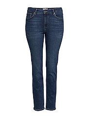 Slim-Fit Valentin Jeans Slimmade Jeans Blå VIOLETA BY MANGO
