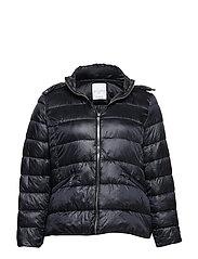 Detachable hood coat - NAVY