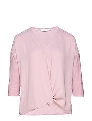 Knot detail t-shirt - LT-PASTEL PINK