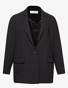 Relaxed fit suit blazer - BLACK