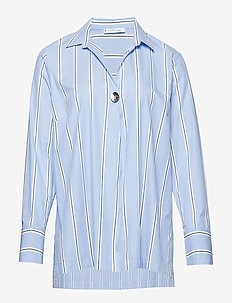 Striped shirt - LT-PASTEL BLUE