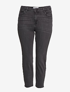 Studs slim-fit jeans - OPEN GREY
