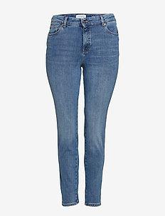 Jeans Bi-Stretch push-up Irene - OPEN BLUE