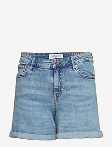 Denim shorts - OPEN BLUE