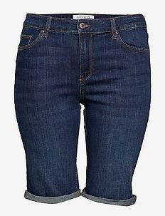 Denim bermuda shorts - OPEN BLUE