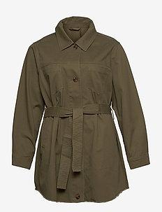 JUCY7 - trenchcoats - beige/khaki