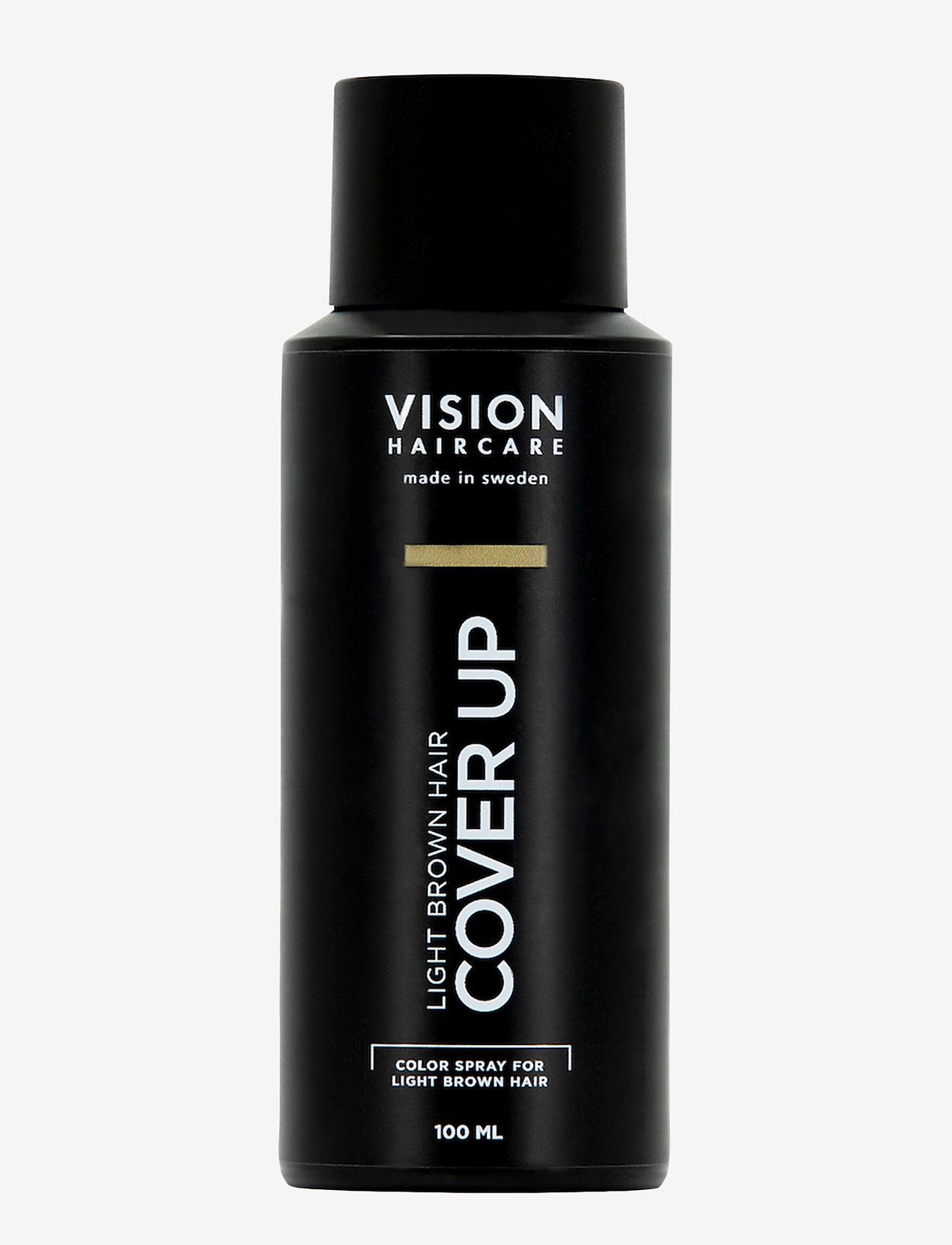 Vision Haircare - Cover Up Ligth Brown - hårspray - no color - 0