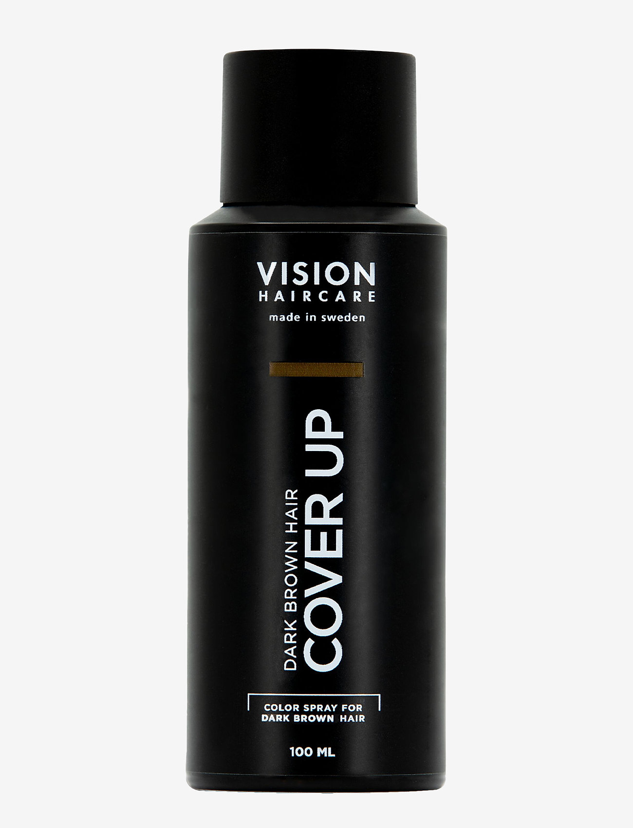 Vision Haircare - Cover Up Dark Brown - hårspray - no color - 0