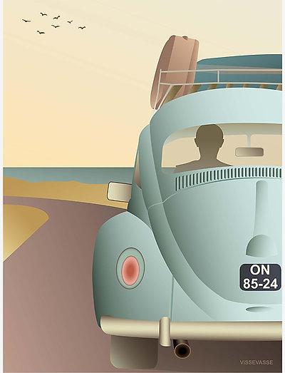 VW BEETLE - posters - multi