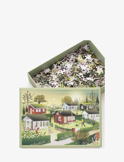 SMALL HOUSES - Puzzle 1000 - spil & puslespil - multi