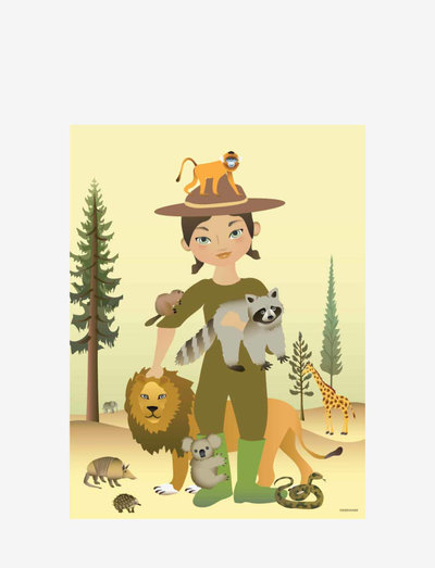 THE ZOOKEEPER - plakater - multi