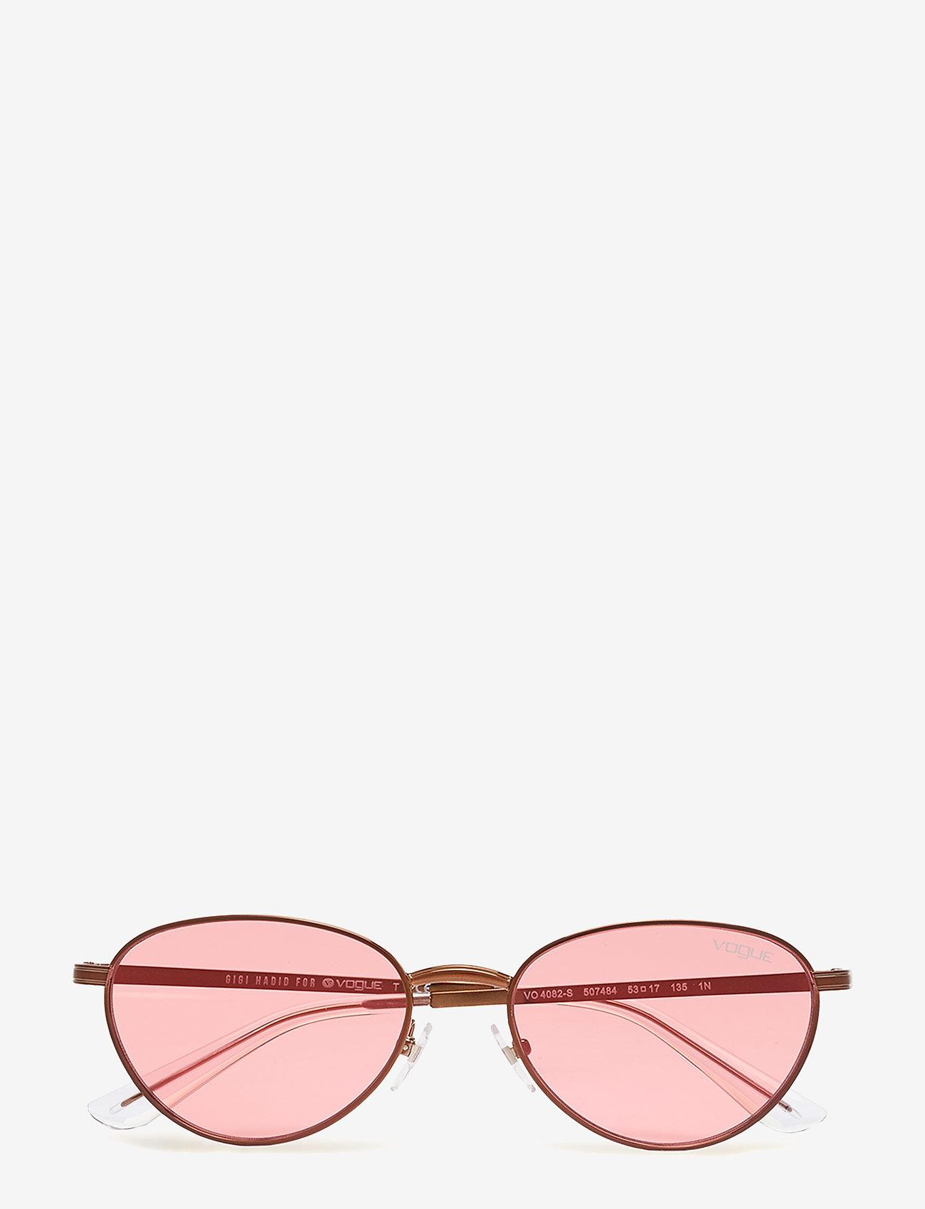 Vogue Eyewear - WOMEN'S SUNGLASSES - rond model - copper light brown/pink - 0