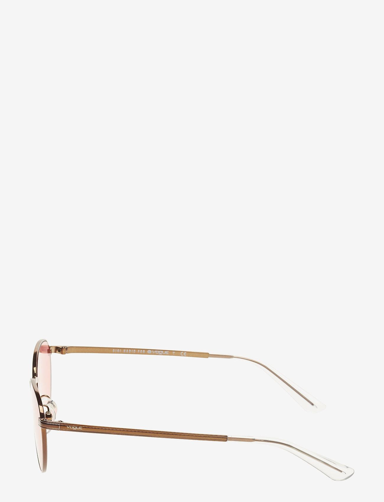 Vogue Eyewear - WOMEN'S SUNGLASSES - rond model - copper light brown/pink - 1