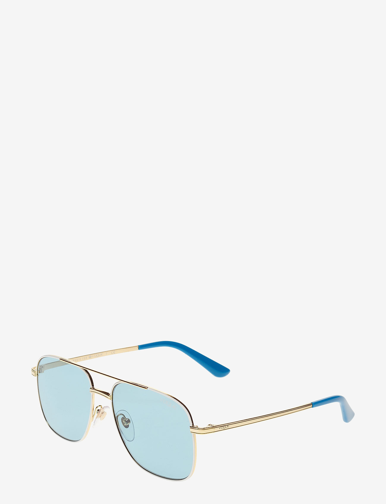 Vogue Eyewear - WOMEN'S SUNGLASSES - okulary przeciwsłoneczne aviator - pale gold/white - 1