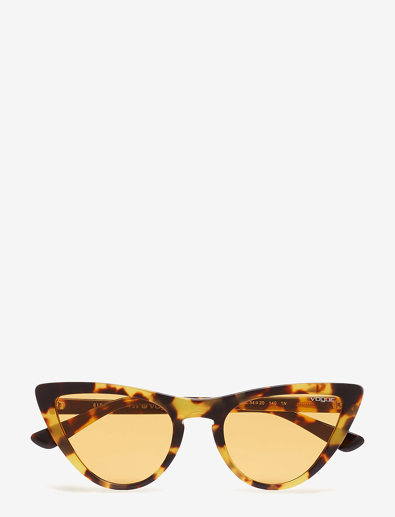 Vogue Eyewear - 0VO5211S - cat-eye - brown yellow tortoise - 0