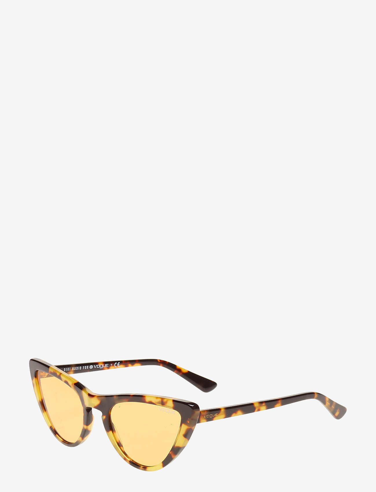Vogue Eyewear - 0VO5211S - cat-eye - brown yellow tortoise - 1