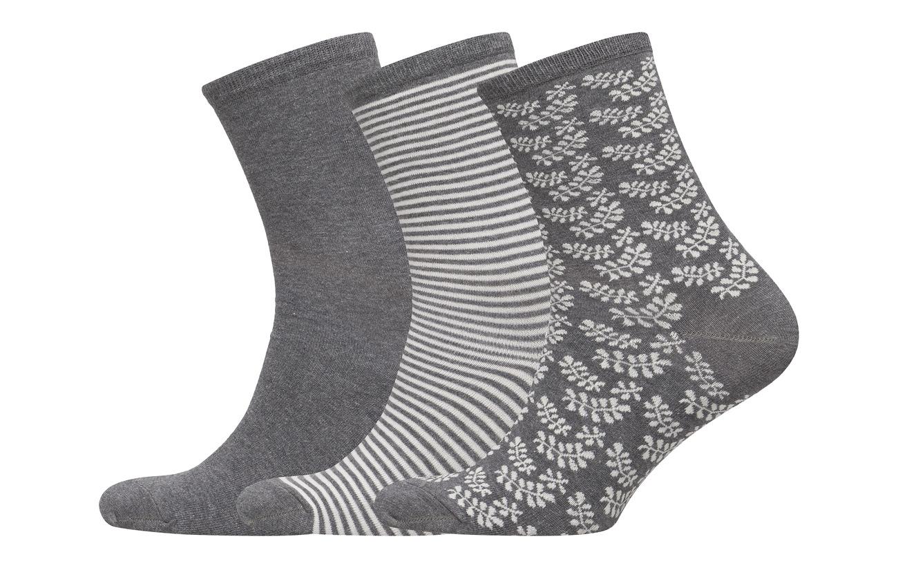 Elastane Vogue 5 70 Charcoal Ladies Anklesock Socks 25 pack Confetti lycra 3 Polyamide Coton nqHAgn
