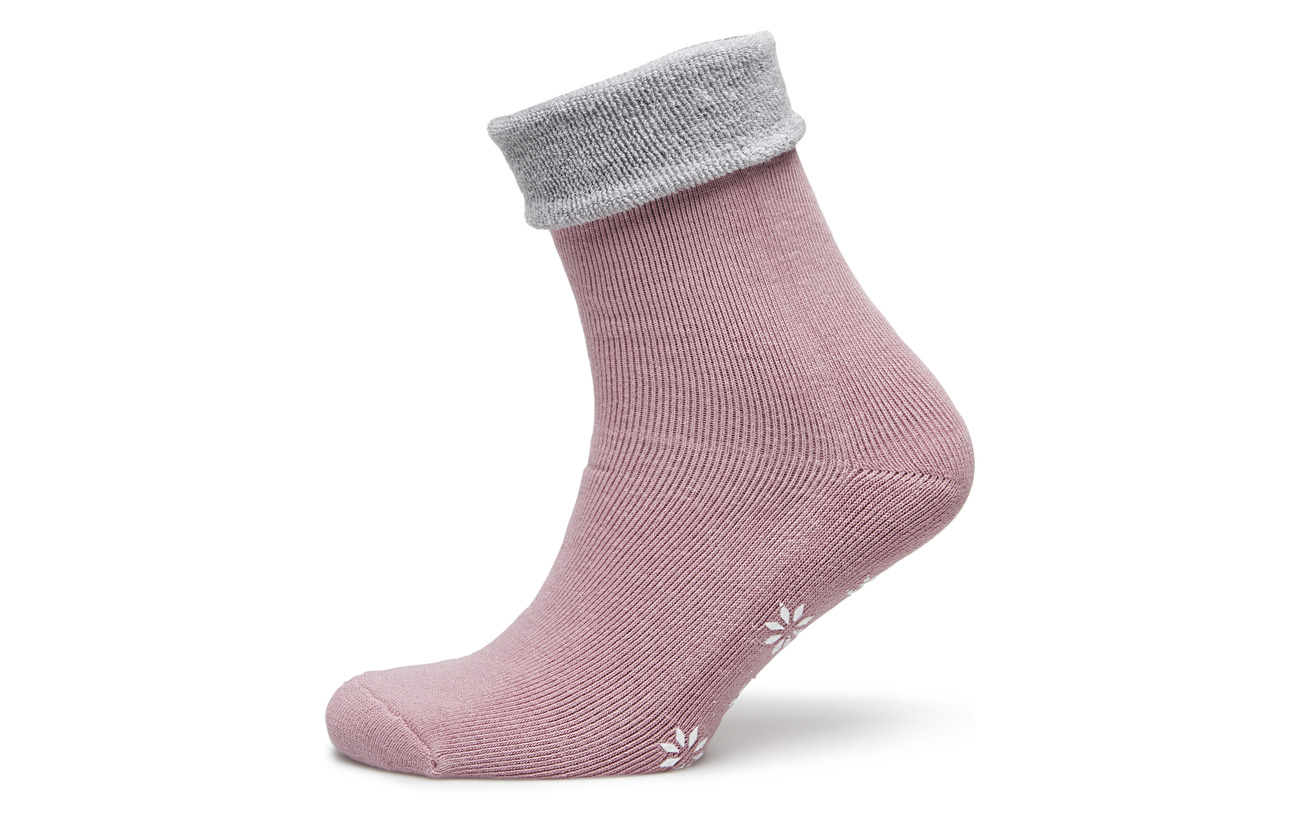 56 Coton Polyester Silver Pink 18 Vogue Sock Elastane Home 2 Polyamide 24 Cosy Anklesock Ladies XUq8F0