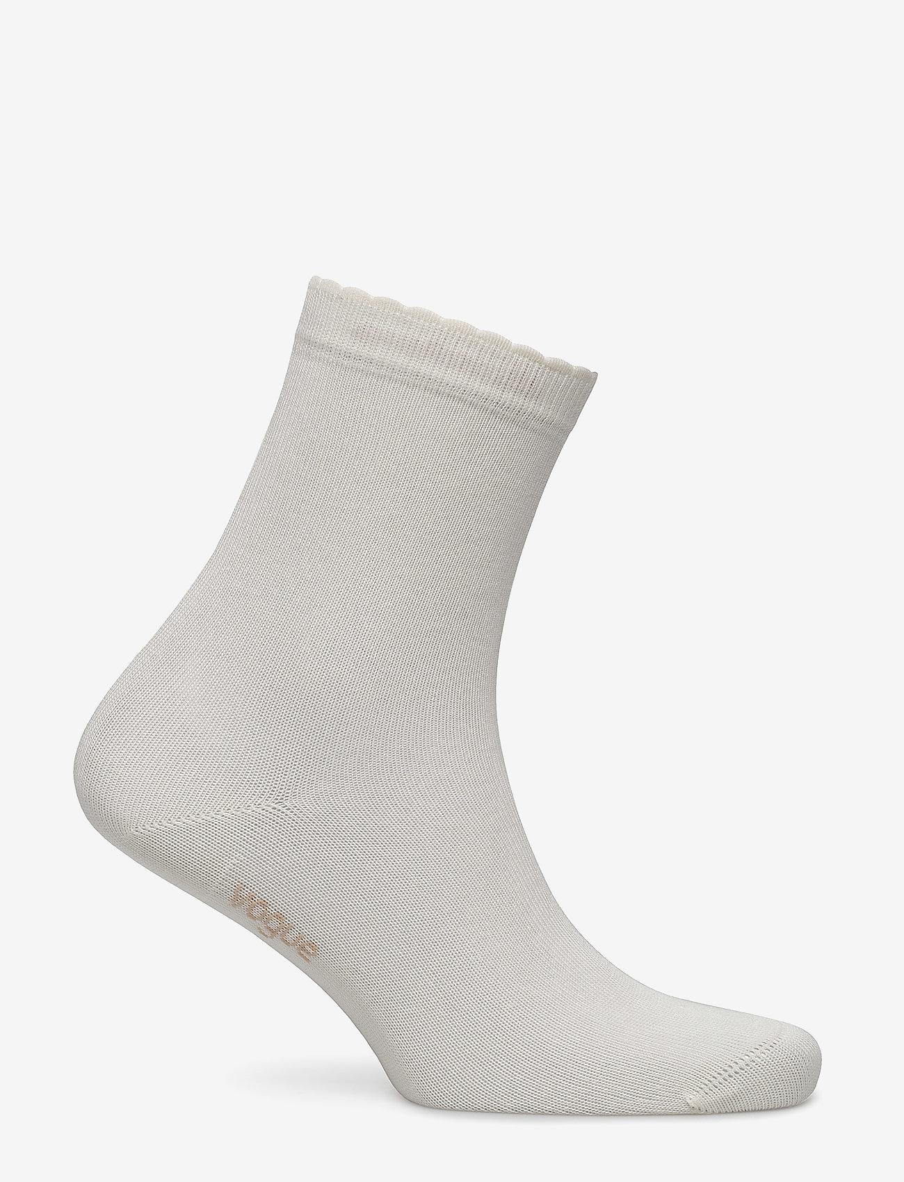 Vogue - Ladies anklesock, Bamboo Socks - socks - off-white - 1