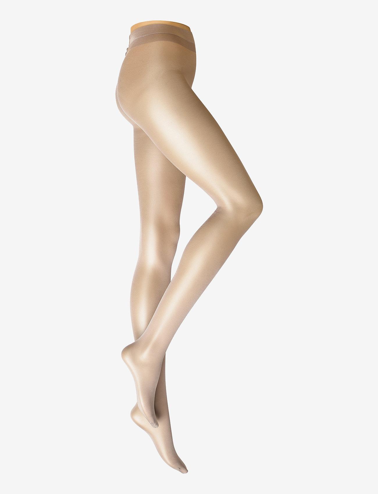 Vogue - Ladies den pantyhose, Sensual Touch 20den - basic - soft grey - 0