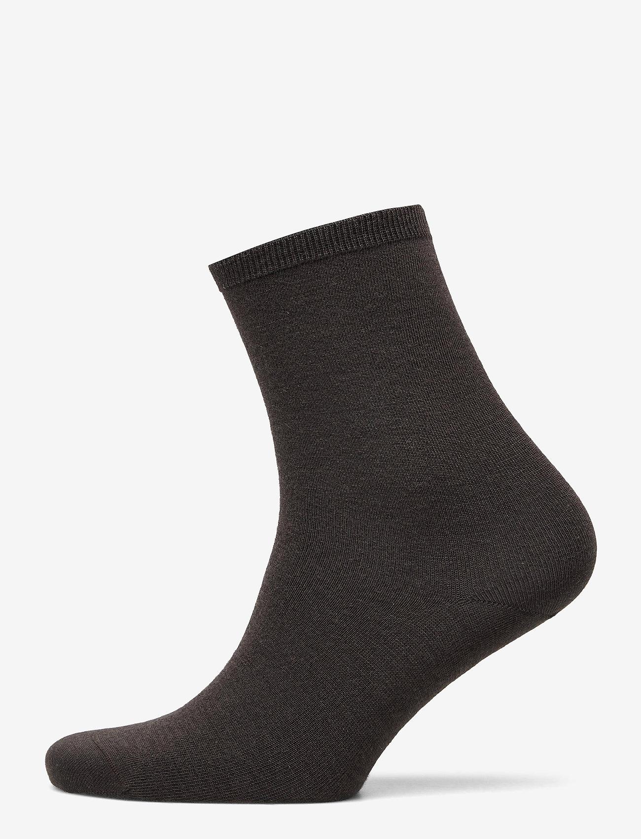 Vogue - Ladies anklesock, Merino Wool Sock - sokken - truffle - 0