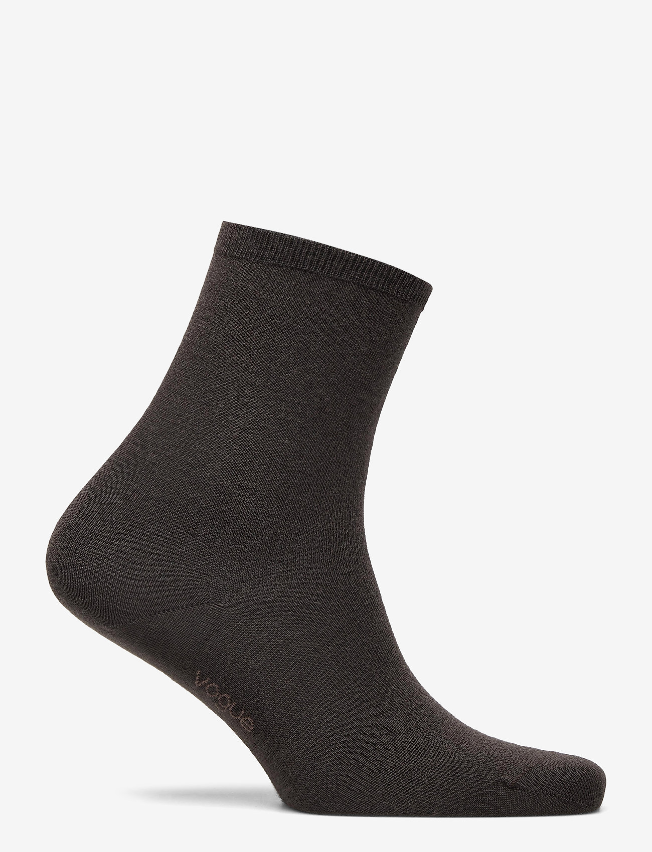 Vogue - Ladies anklesock, Merino Wool Sock - sokken - truffle - 1