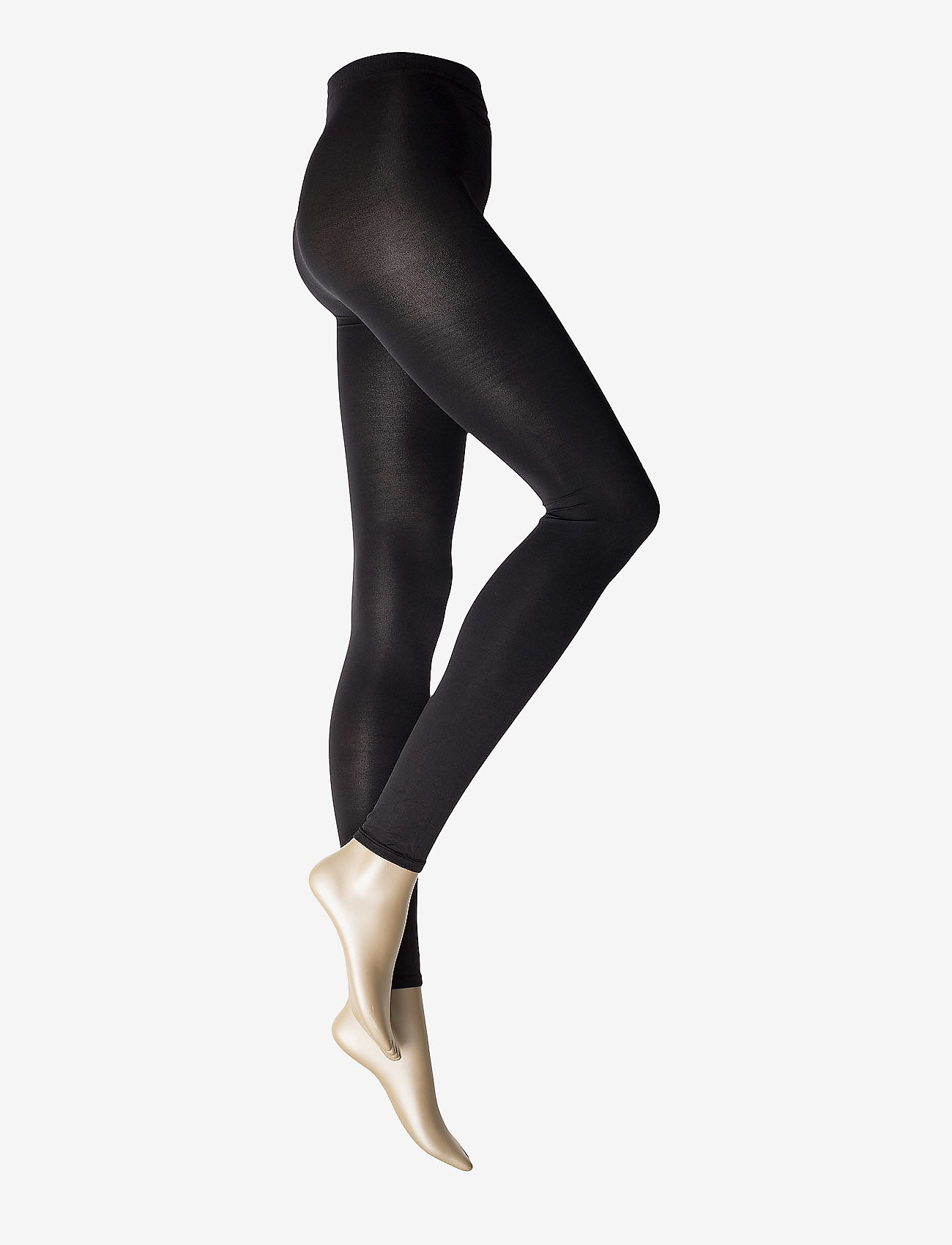 Vogue - Ladies den leggings, Opaque Leggings 3D 80den - strumpbyxor - black - 0