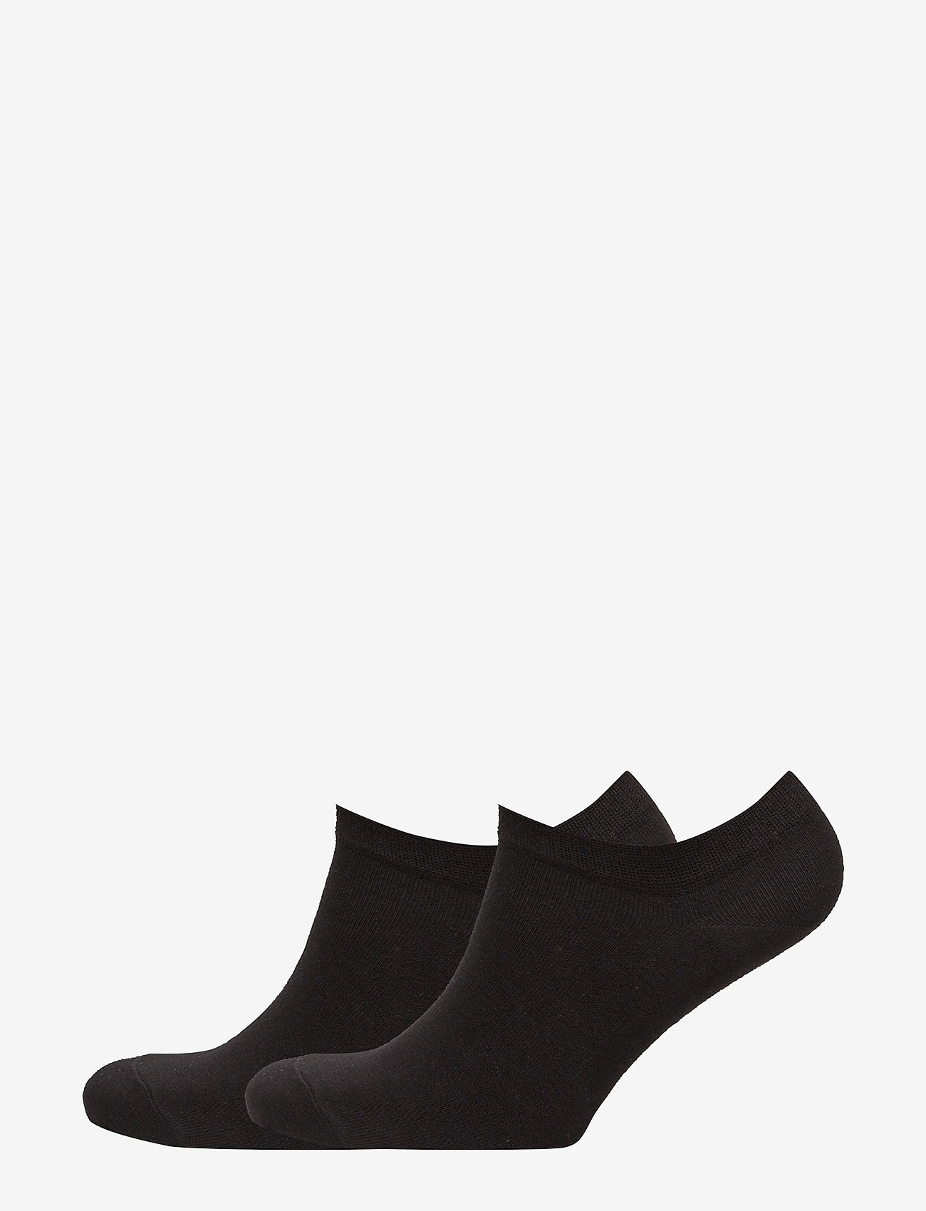 Vogue - Ladies steps, Cotton Steps, 2-pack - sneakersokken - black - 0