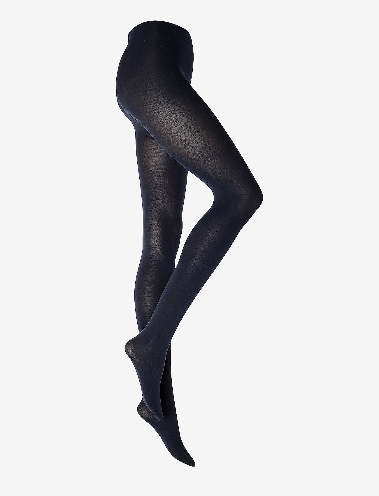 Vogue - Ladies pantyhose den, Opaque 3D 80 den - strømpebukser - black iris - 0