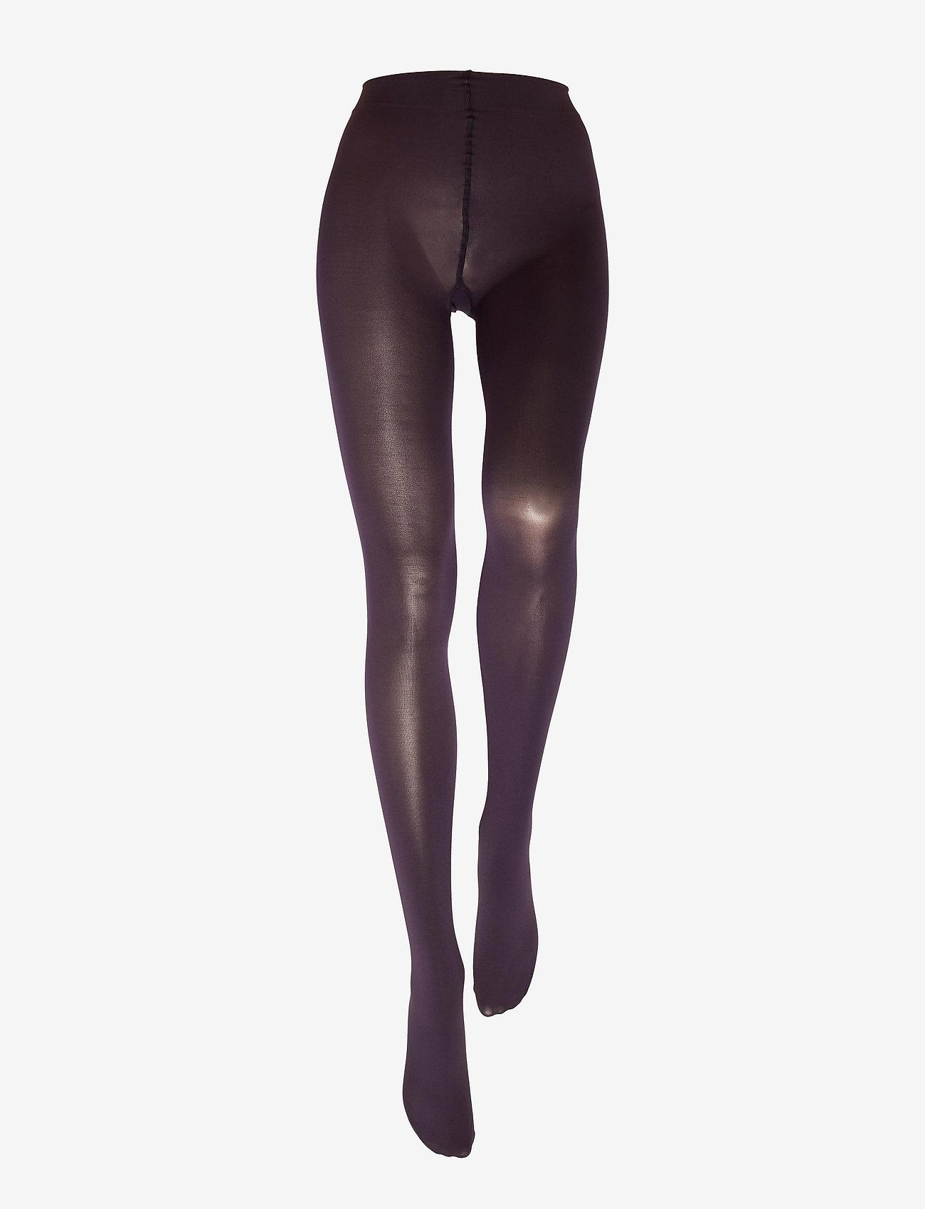 Vogue - Ladies pantyhose den, Opaque 3D 80 den - zeķbikses - dark purple - 1