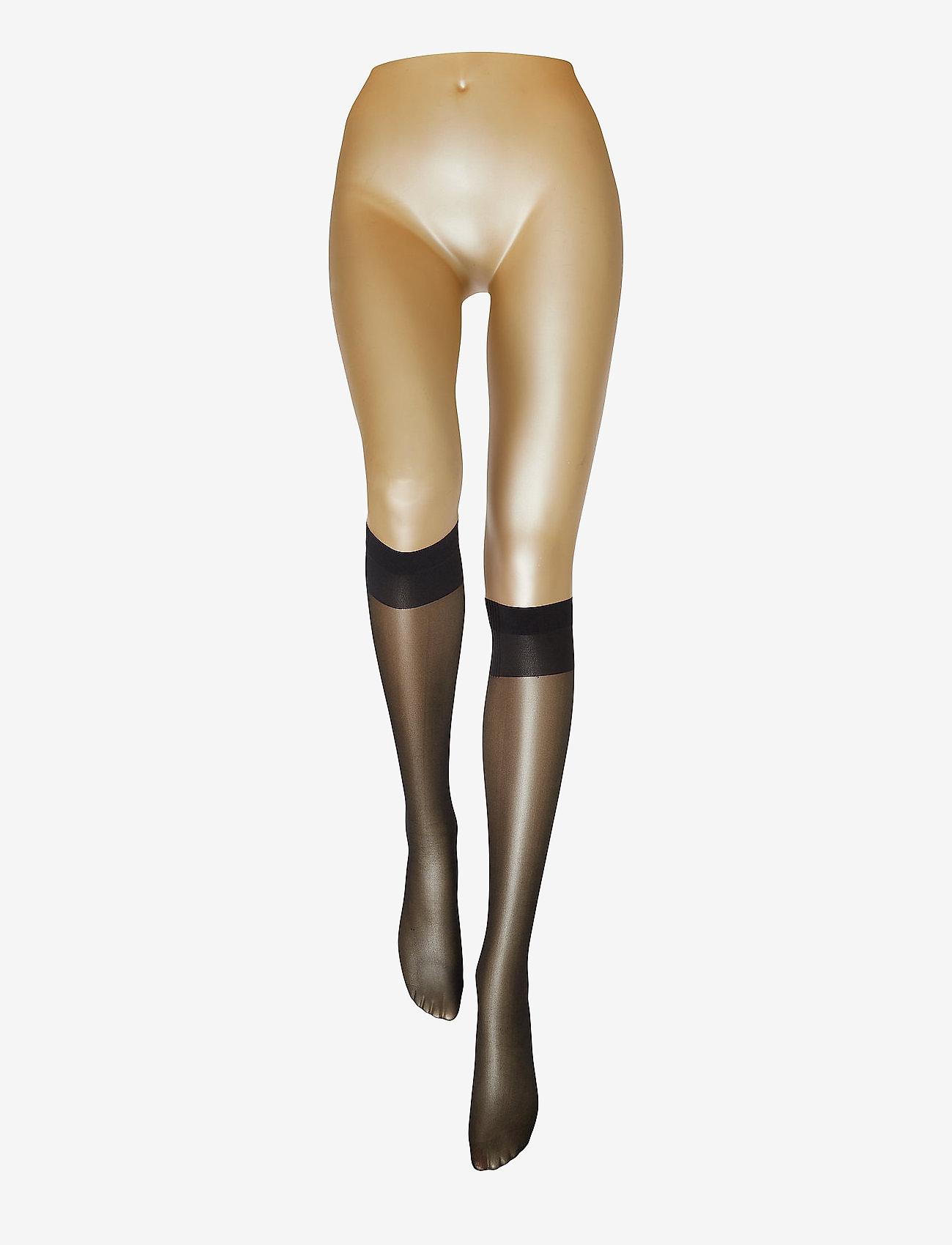 Vogue - Ladies den knee-high, Pleasure Knee 20, 2-pack - kniekousen - black - 1