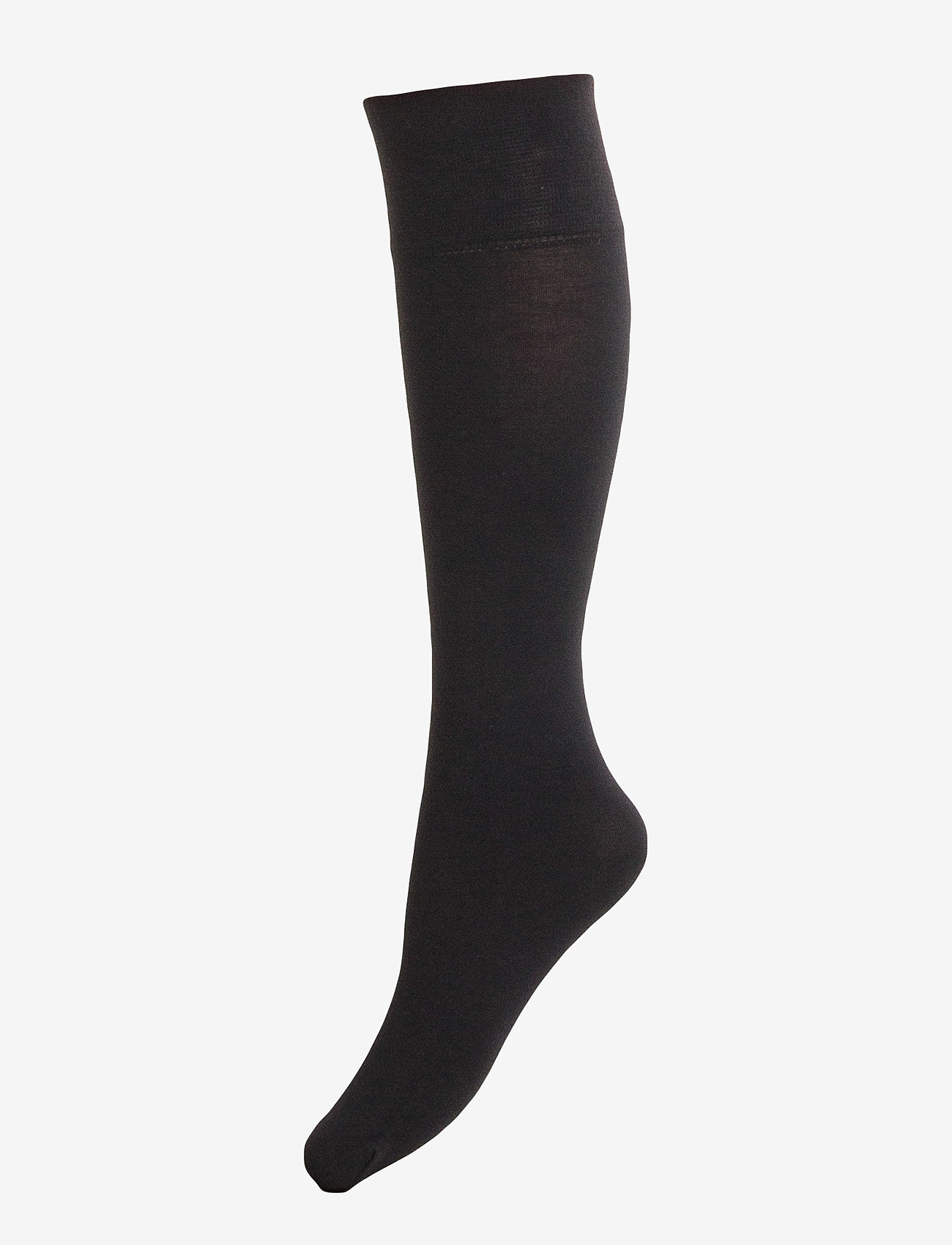 Vogue - Ladies knee high, Silky Cotton Knee - knee-highs - black - 0