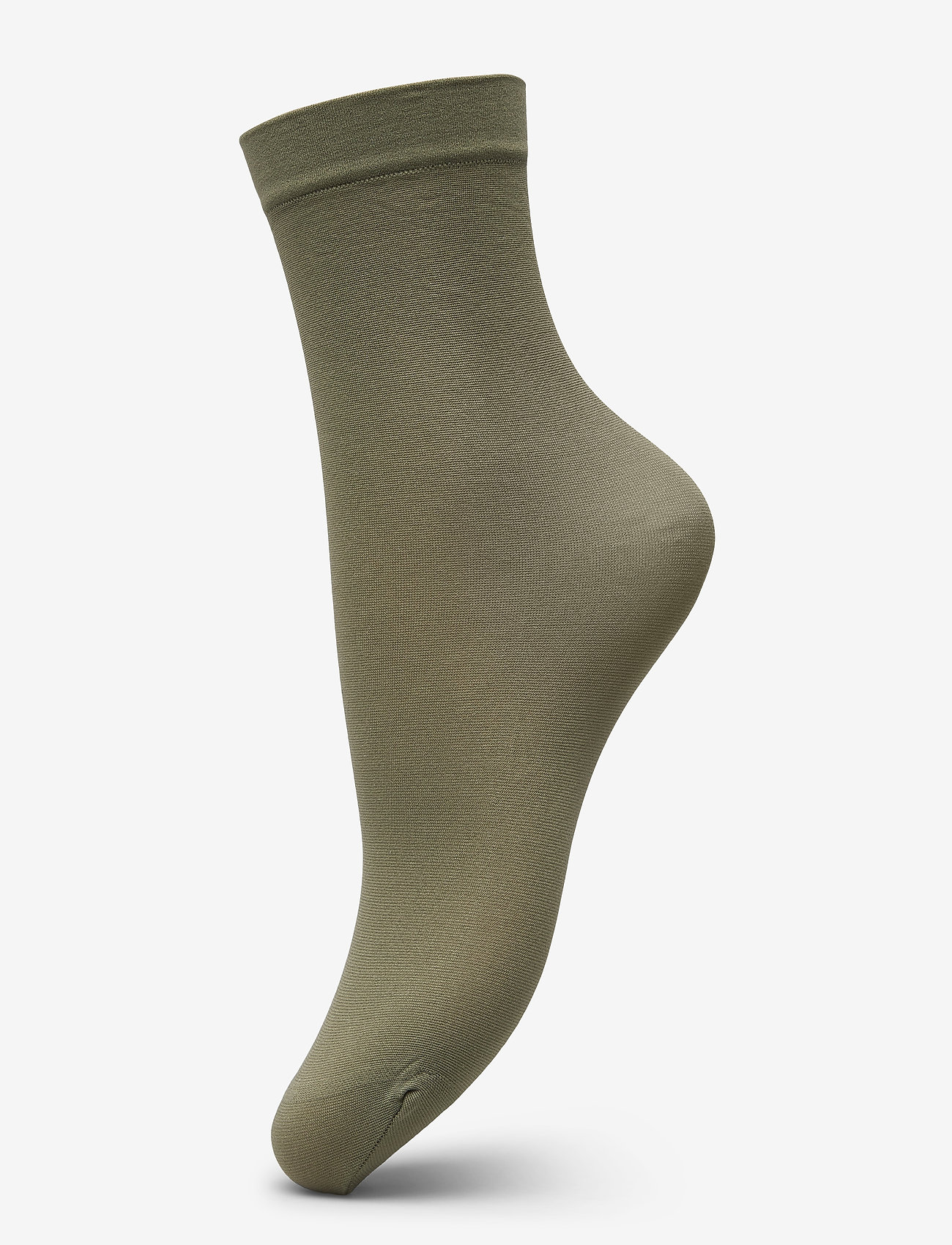 Vogue - Ladies anklesock den, Opaque Sock 40 - footies - olive - 0