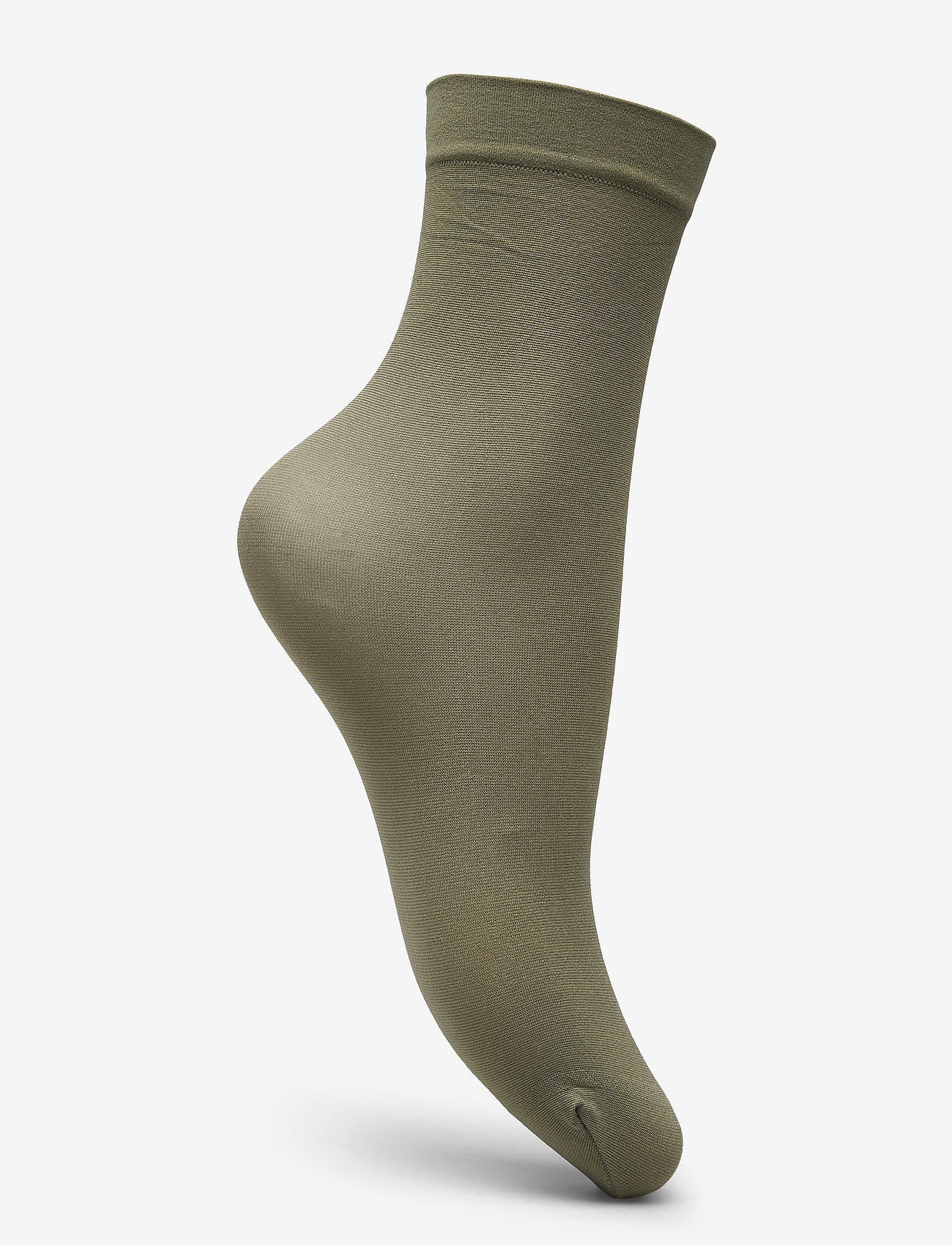 Vogue - Ladies anklesock den, Opaque Sock 40 - footies - olive - 1