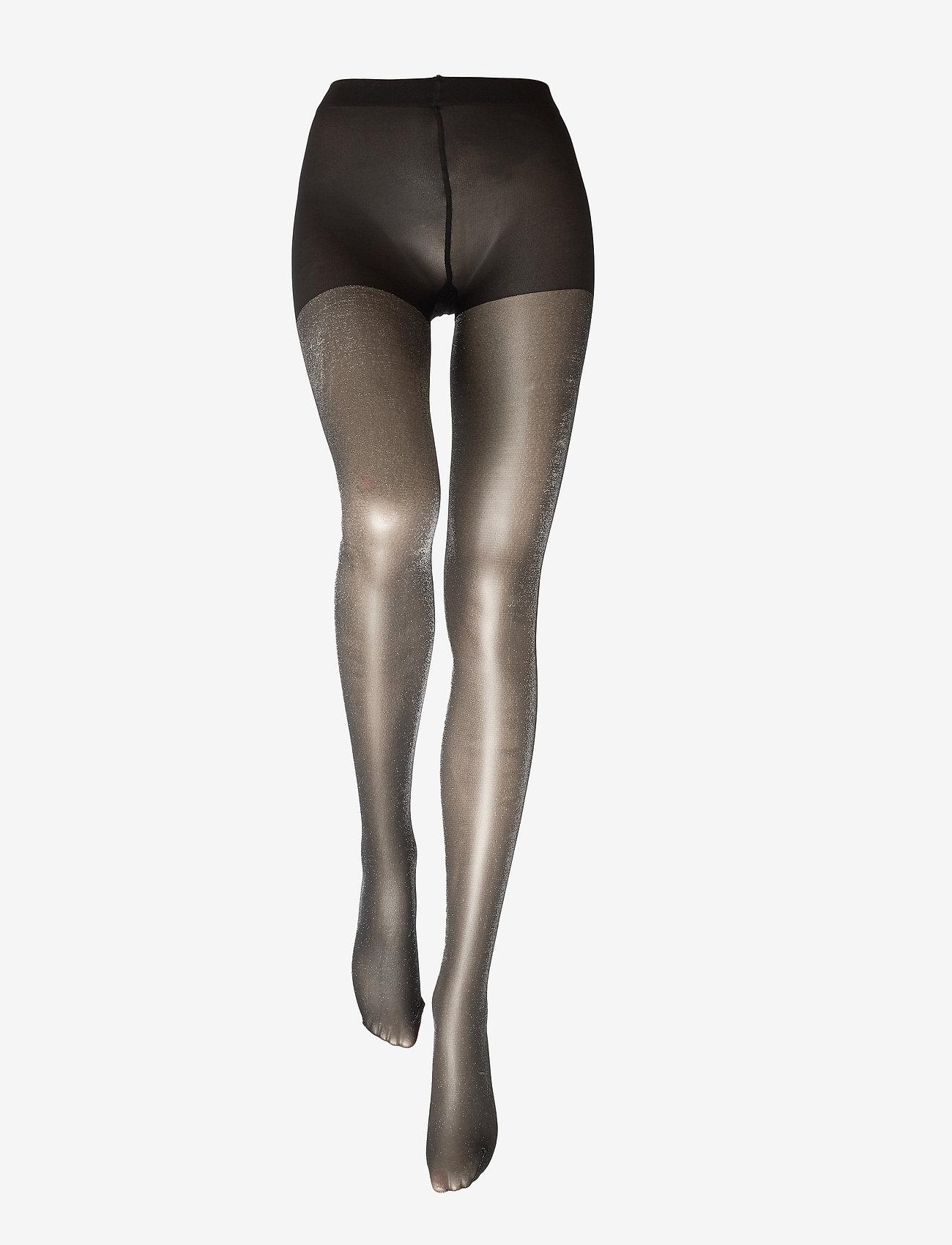 Vogue - Ladies pantyhose den, Roseline 40 - panty's - black - 1