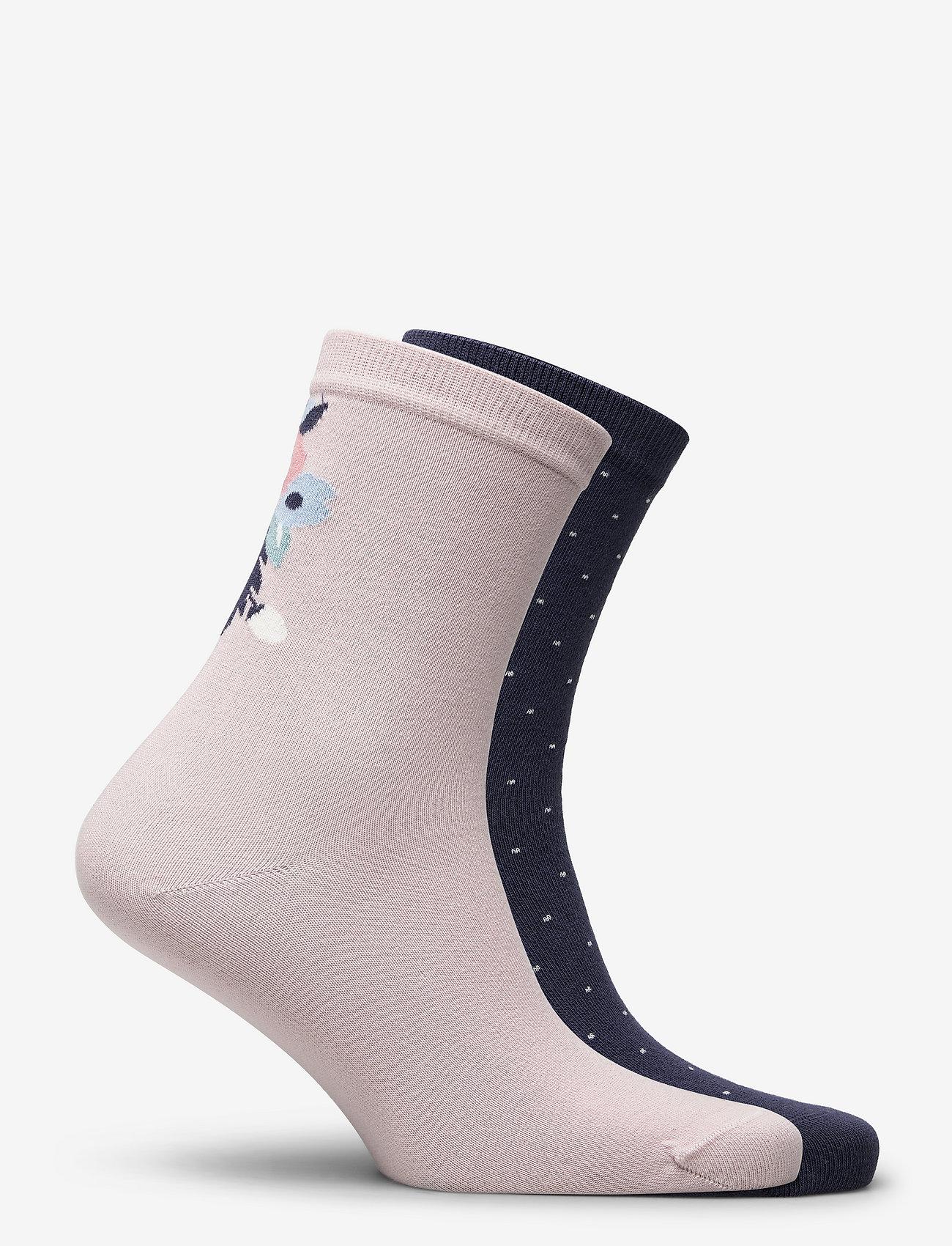 Vogue - Ladies anklesock, Celestine Socks, 2-pack - sneakersokken - cameo rose - 1