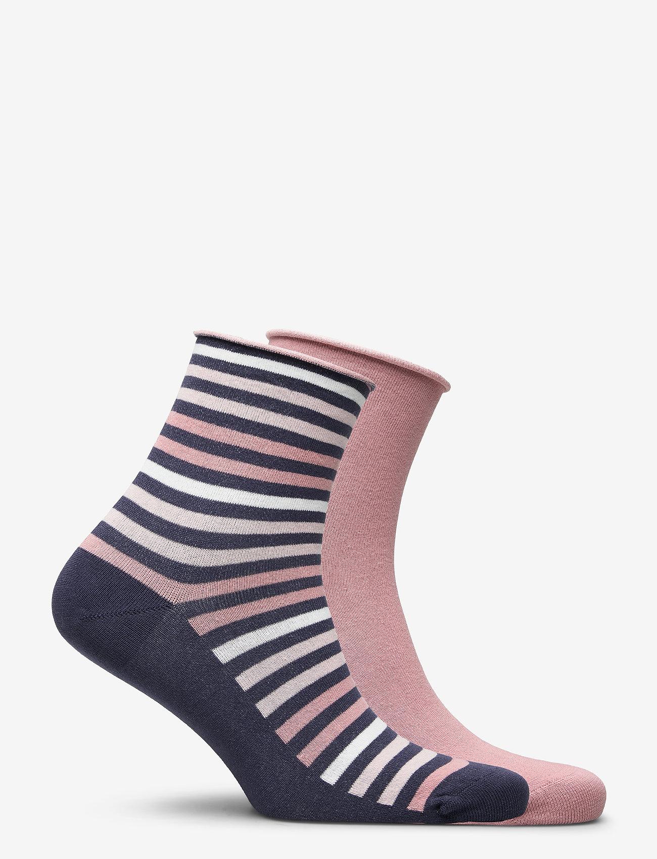 Vogue - Ladies anklesock, Renee Socks, 2-pack - sneakersokken - nightshadow - 1