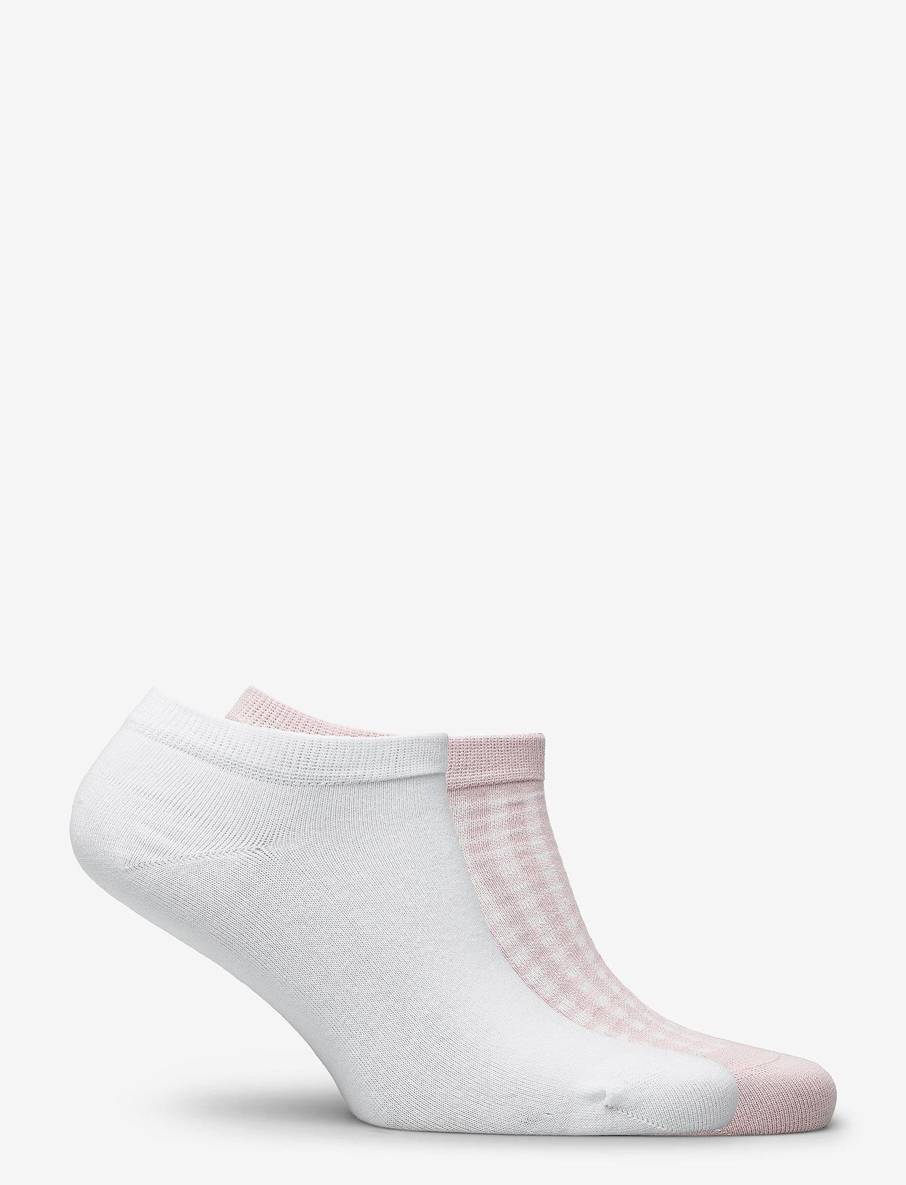 Vogue - Ladies anklesock, Bibi sneakers, 2-pack - sneakersokken - cameo rose - 1